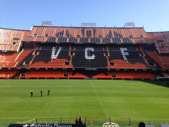 Visite stade de foot Valence