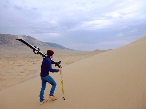 Les dunes d'Altyn Emel