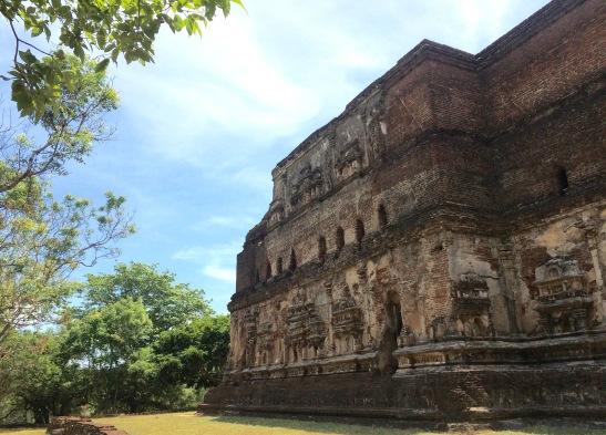 Le site touristique d'Anuradhapura ( au patrimoine de l'UNESCO)