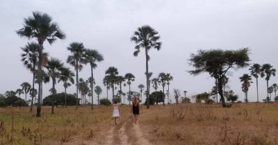 Even though it's close to the see, a few miles will help you reach the savana!