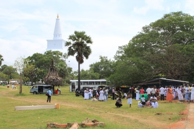 Un jour de Poya au Sri Lanka