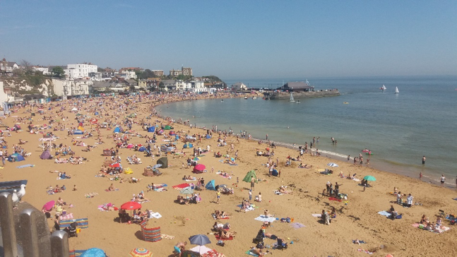 Plage de Broadstairs