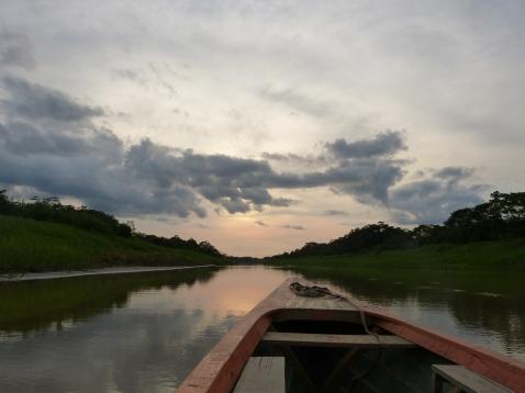 Iquitos dans la foret amazonienne